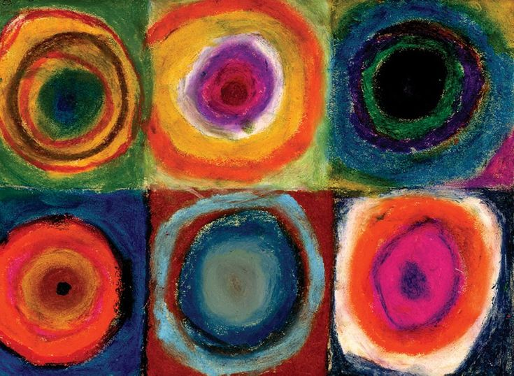 17 best images about kandinsky ideas on pinterest corn for Oil painting for kids