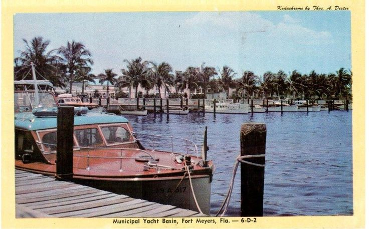 Fort meyers florida municipal yacht basin on the for Caloosahatchee river fishing
