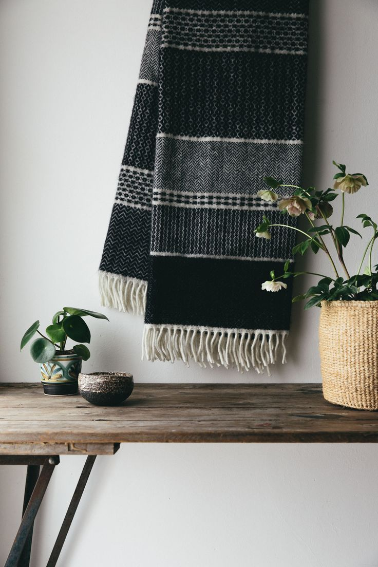 Plants, Ceramics & Woven Textiles make up all the elements we love in a natural handmade home.