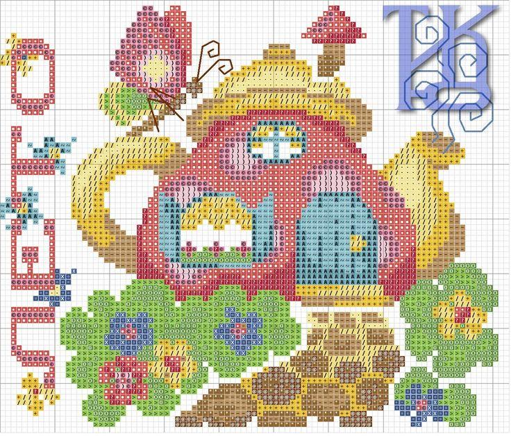 Cross stitch *♥* Saison Pot 1