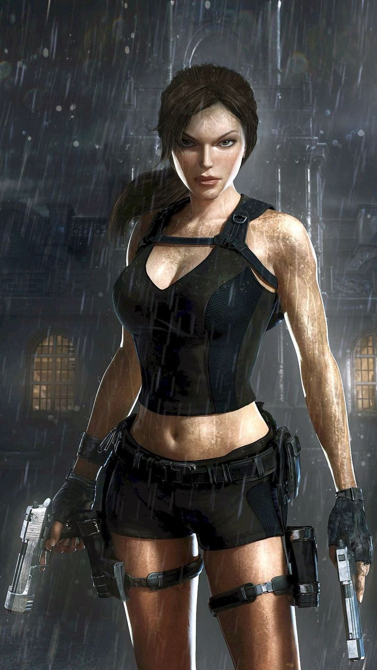 Pin på Lara Croft