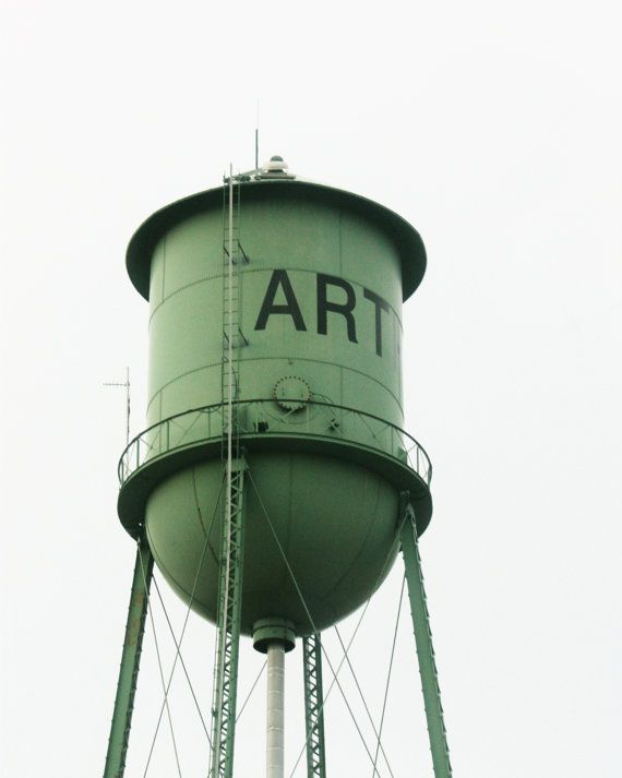 Water Tower Tank : Water tower structure photography black and white