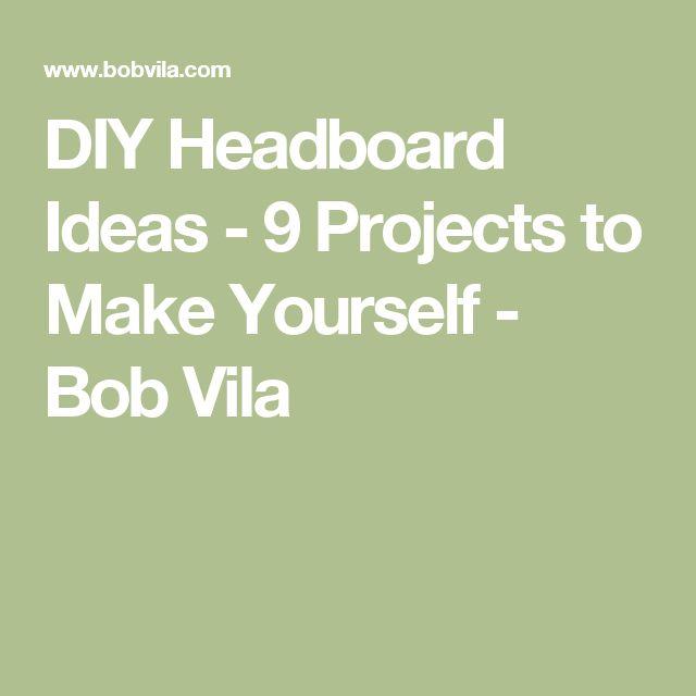 diy headboard ideas 9 projects to make yourself bob vila - Diy Knigin Kopfteilplne