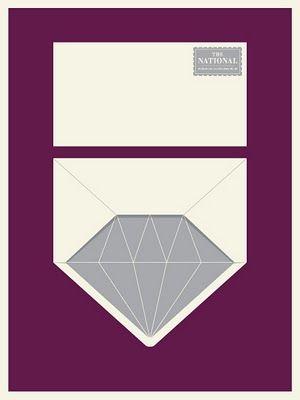diamond envelope - so clever!