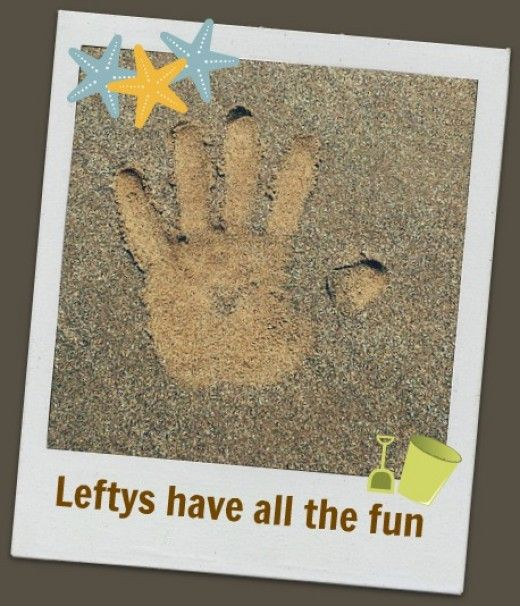Awesome Left Handed Facts and Products -  Join the left handed club.  Find out who the famous left handed people are. Celebrate left handed day.