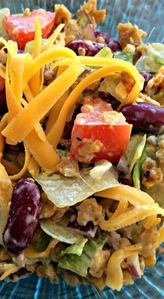 Father's Day Taco Salad