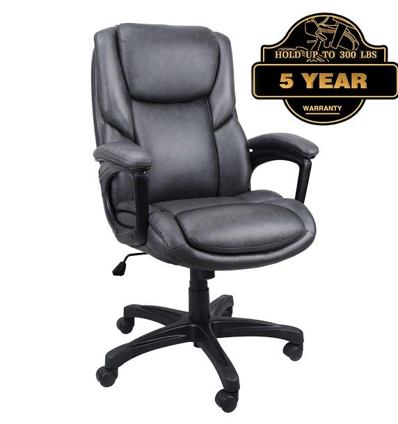 Luxurious Executive Office Chairs High Back Leather Computer Desk