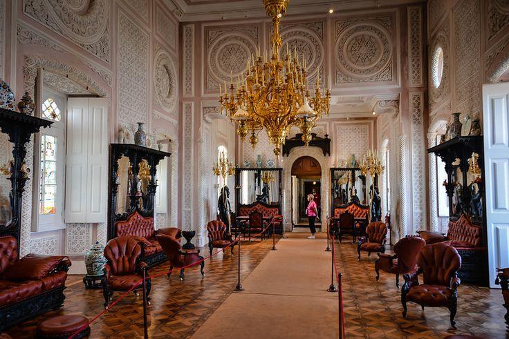 Interior of Palácio Nacional da Pena - Sintra Portugal