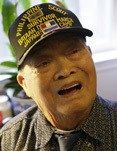 A San Francisco Bay Area man who survived the infamous 1942 Bataan Death March and symbolized the thousands of unheralded Filipinos who fought alongside American forces during