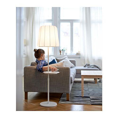 VARV Floor lamp w/pad/wireless charging  - IKEA