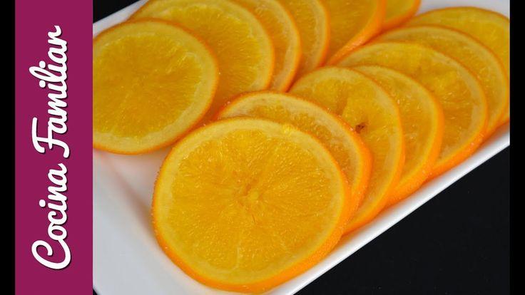 Naranjas confitadas para el roscón de reyes | Recetas caseras de Javier ...