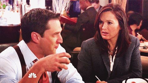 """When he flashed that smug I'm-totally-gonna-win-this-case smile. 