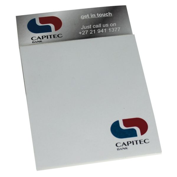 NOTE214 Business Card And Notepad Magnet With Full Colour Print Product Size 90 X 105mm
