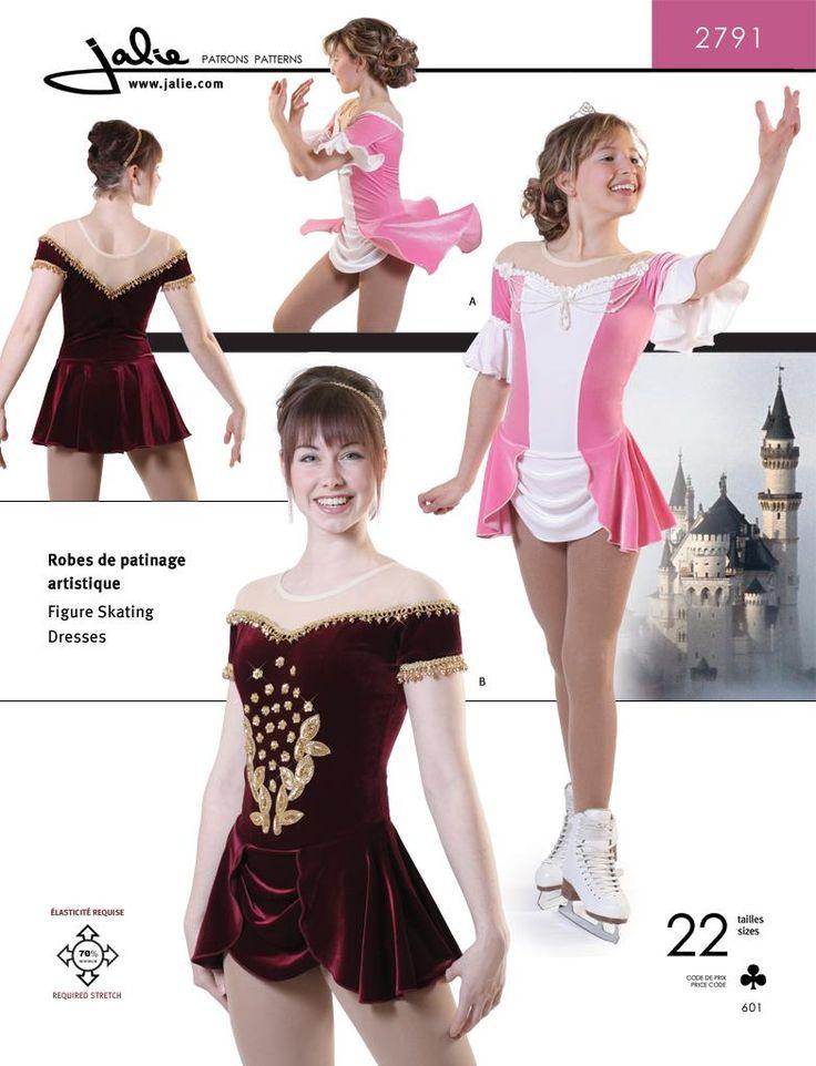 Jalie 2791 - Skating Dress Sewing Pattern