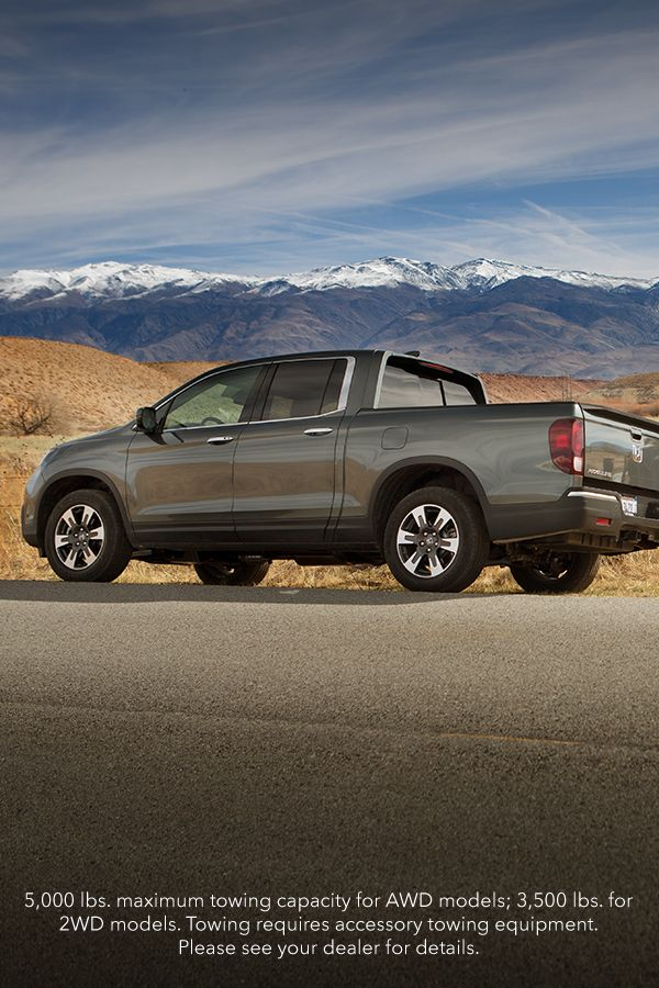 Is It Camping Season Yet The 2019 Honda Ridgeline Has An Available 5 000 Lbs Towing Capacity A Roomy Cargo Area And A Dual Acti Honda Ridgeline Honda Carros
