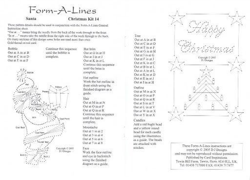Form A Lines Stitching Cards Free Patterns Ibovnathandedecker
