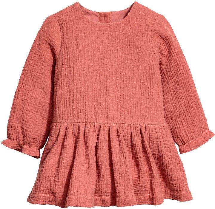 H&M - Double Weave Cotton Dress