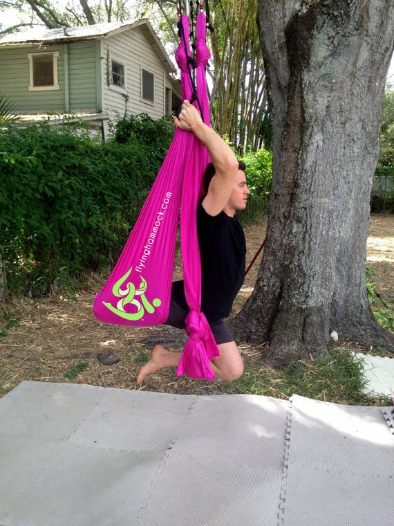 deluxe aerial yoga hammock for sale on etsy