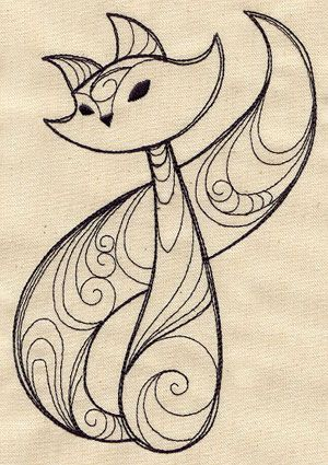 Embroidery Designs at Urban Threads - Sly Fox