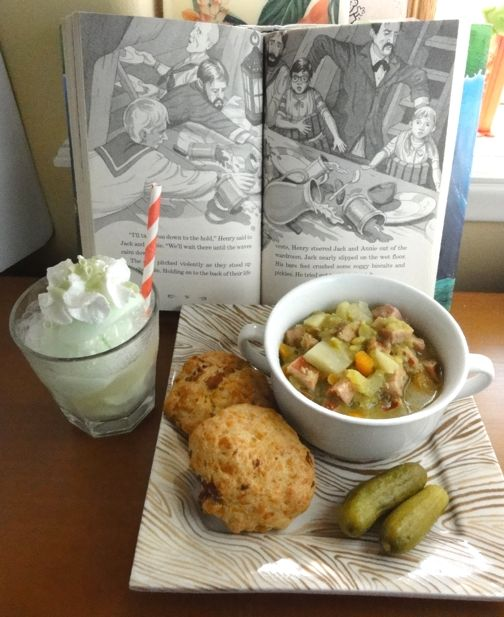Author Of Magic Treehouse Books Part - 23: Magic Tree House Dinner (food Inspired By Books)