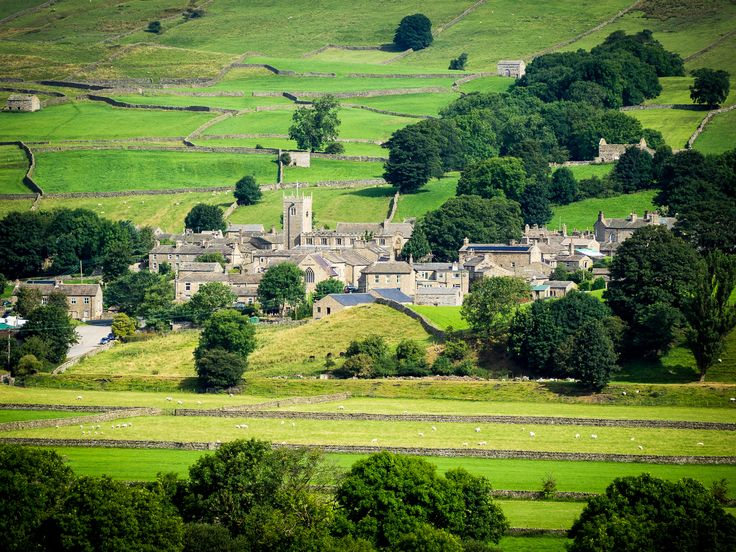 """***James Herriot's Darrowby [""""All Creatues Great and Small""""] (Askrigg, Yorkshire Dales, England) by Bob Radlinski"""