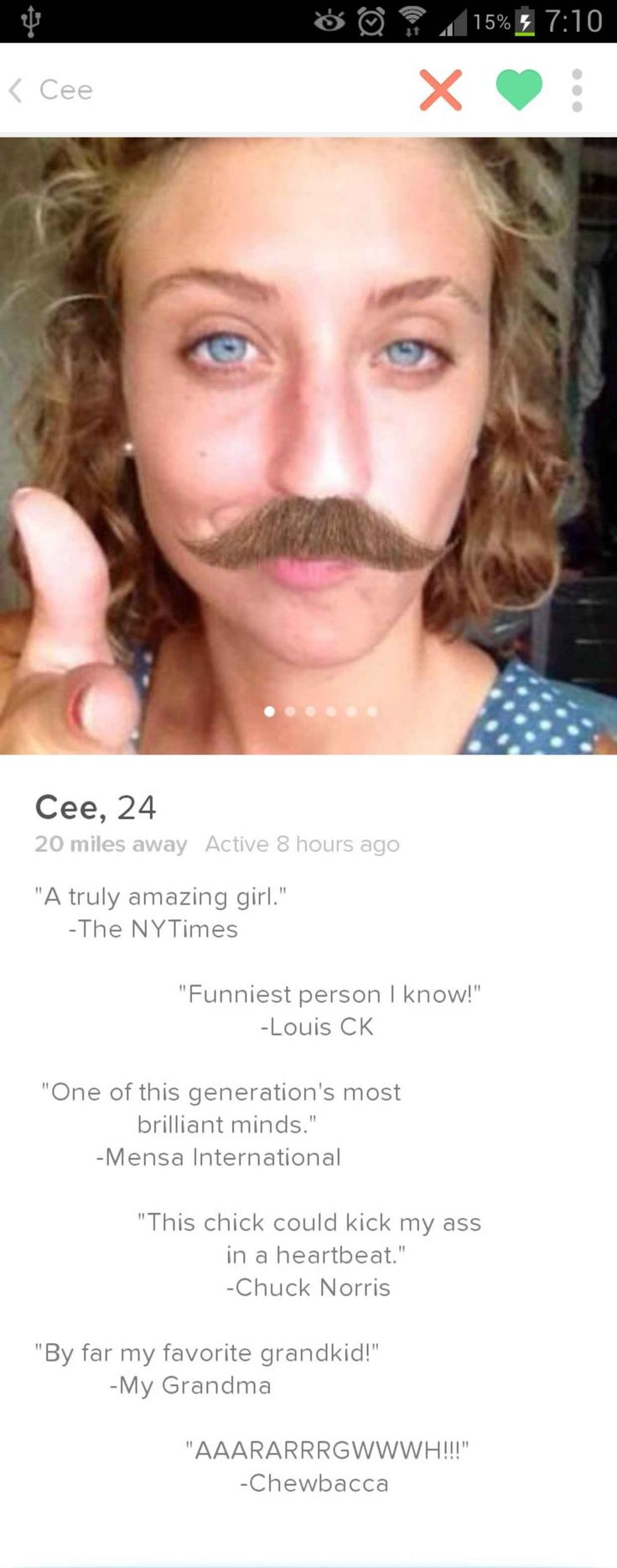 23 Hilarious Bios You Would Only Ever Find on Tinder - BlazePress