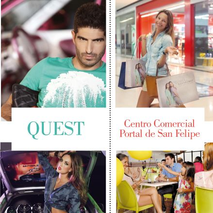 Quest / Centro comercial Portal de San Felipe Cartagena/Colombia http://www.inkomoda.com/quest-centro-comercial-portal-de-san-felipe/
