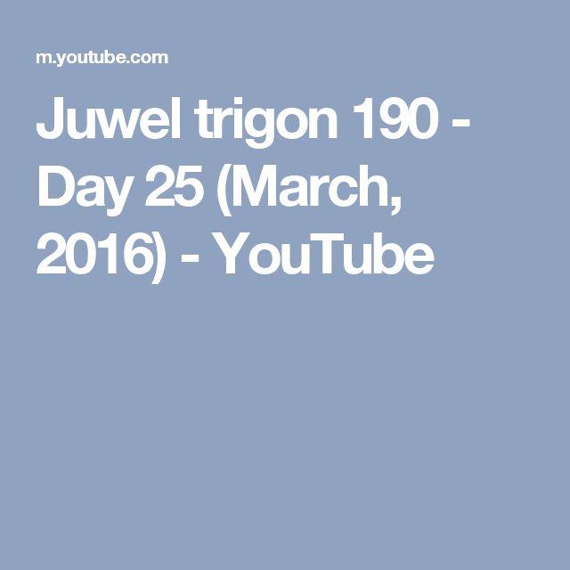 Juwel trigon 190 - Day 25 (March, 2016) - YouTube