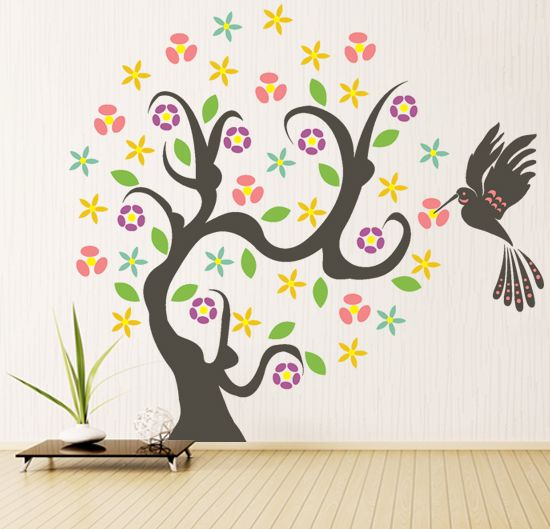 Best Nature Wall Stickers Images On Pinterest Removable Wall - Wall decals nature and plants