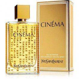 CINEMA YSL edp 50ml, CINEMA - esencia de perfumes seductores  Glamoroso, hedonista, sorprendente, el perfume que revela la estrella que lleva adentro cada mujer. Es consciente de su poder de seducción. Es para ella que Saint Laurent ha creado Cinema, un perfume que pone de relieve su sensualidad, su intenso encanto y su glamor.