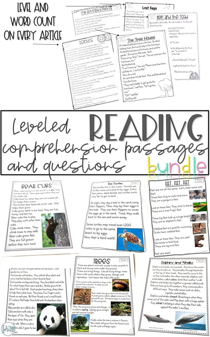 - This Bundle Has 112 Leveled Reading Passages And Response Pages