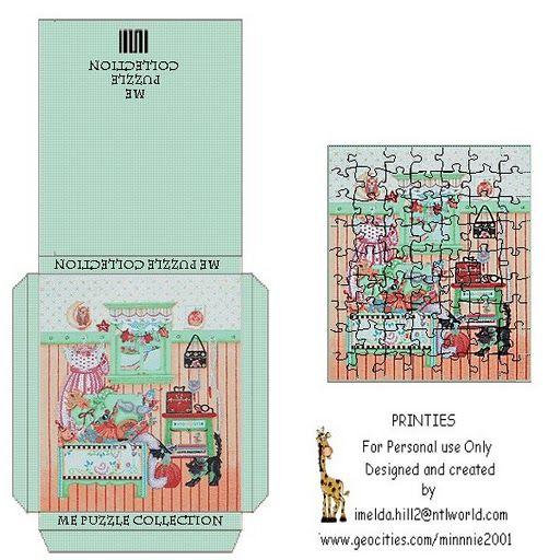 printable dollhouse puzzle - j stam - Picasa Web Albums
