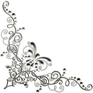 swirly corners