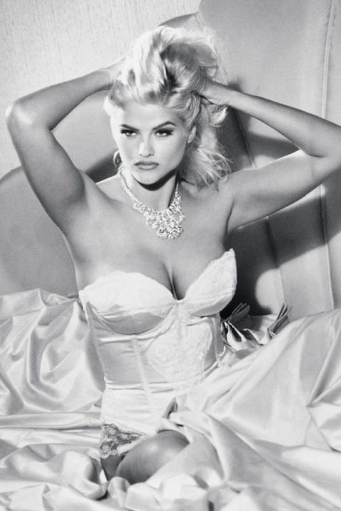 Guess Girls Through the Years - ANNA NICOLE SMITH, 1993
