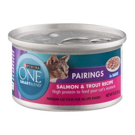 Purina ONE True Instinct Premium Cat Food Salmon & Trout Recipe, 3.0 OZ