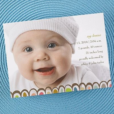 17 best Baby Birth Announcement Cards – Inexpensive Birth Announcements