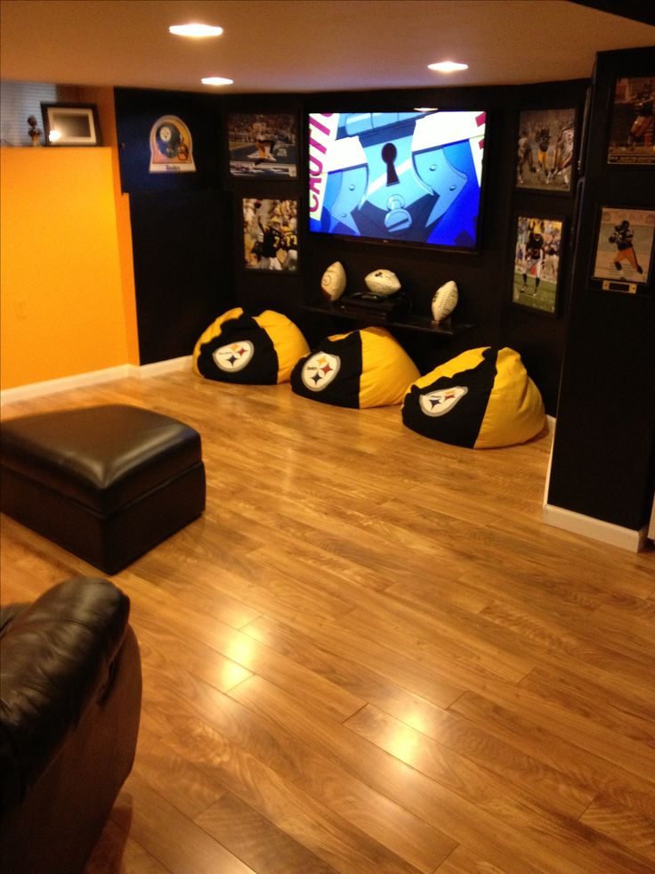 Man Cave Ideas Football : Best pittsburgh steelers rooms wo man caves images