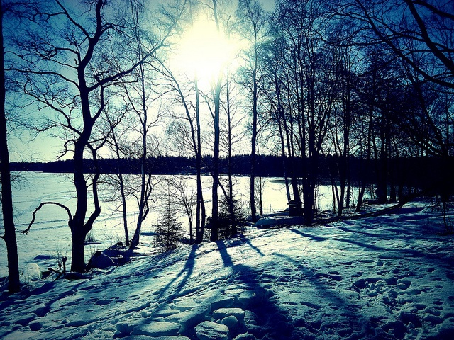Afternoon sun over the lake by Richard McGrath Photography, via Flickr