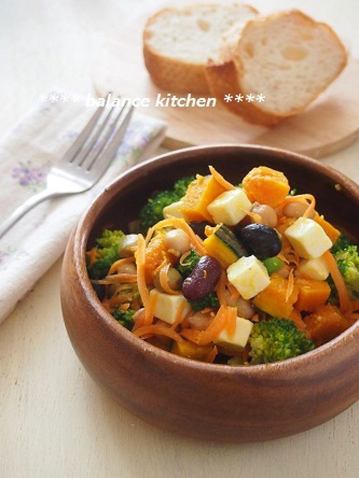 【作り置き可能】豆とチーズのビタミンACEサラダ by 河埜 玲子 | レシピサイト「Nadia | ナディア」プロの料理を無料で検索