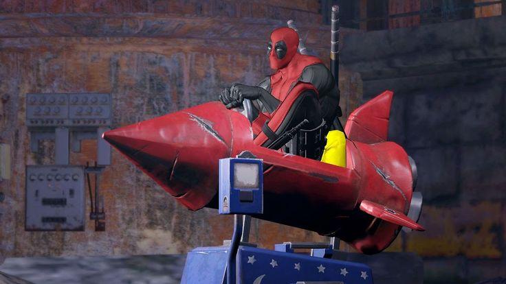Deadpool O Filme Game Legendado -  Filme Completo Dublado - Filmes Dubla...