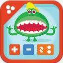 1e Montessori rekensommen. Een app met veel rekensommen om het optellen en aftrekken te oefenen en even/oneven en dubbele / helft. App met Montessori materiaal!