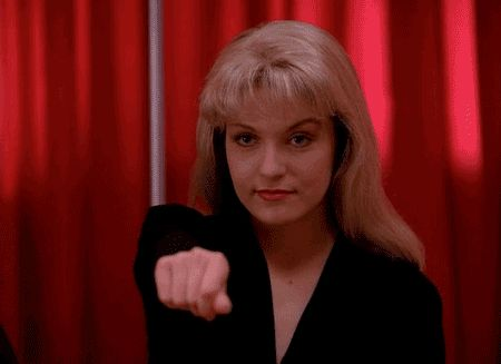 Pin for Later: All the Freaky, Fabulous Reasons Twin Peaks Is a Cult Classic Stuff starts going backwards. It's kind of awesome.