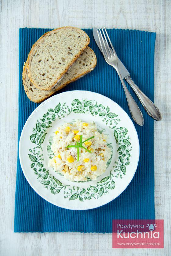 #salatka z #tunczyk.iem i #ryz.em  http://pozytywnakuchnia.pl/salatka-z-tunczykiem-i-ryzem/  #przepis #kuchnia