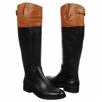 Black & Tans! Ralph Lauren Janessa Boots.