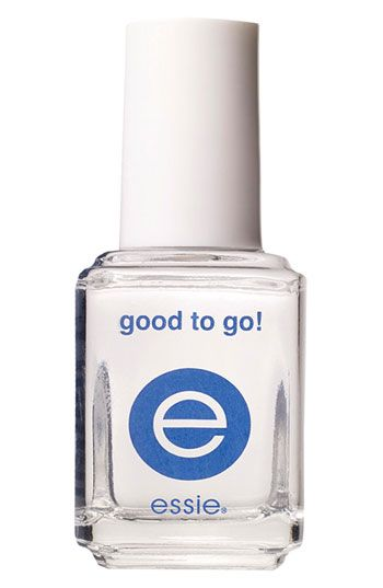 Essie 'Good To Go!' Top Coat | Dries your polish almost immediately - life saver!