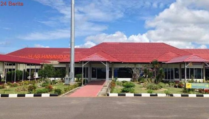 Bandara HAS Hanandjoeddin Layani Penerbangan Internasional