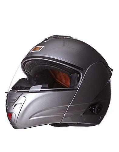 Casque de moto avec le bluetooth compatible avec votre mobile. 4 heures de conversation, batterie rechargeable en 6 heures. Modèle «…
