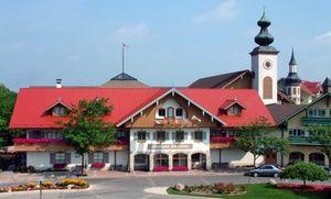 Groupon - Stay with Swim Pass, Arcade Credit, and Mini-Golf Passes at Bavarian Inn Lodge in Frankenmuth, MI. Dates into March. in Frankenmuth, MI. Groupon deal price: $129