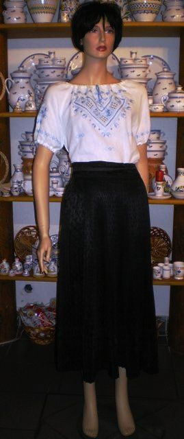A beautiful traditional folk skirt from Kőrösfő, Kalotaszeg.
