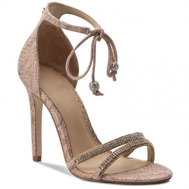Sandały GUESS - Peri FLPRI2 LEP03 NUDE